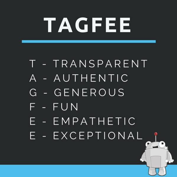 Rogerbot – the mascot of Moz – approves TAGFEE. Learn more about TAGFEE here