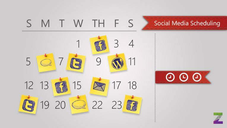 Let social media scheduling be!